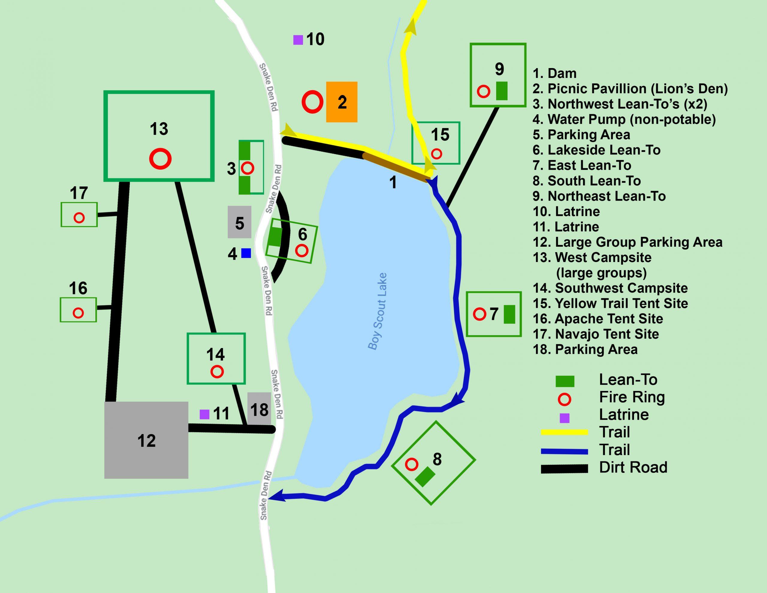 Camp Wyanokie Map2